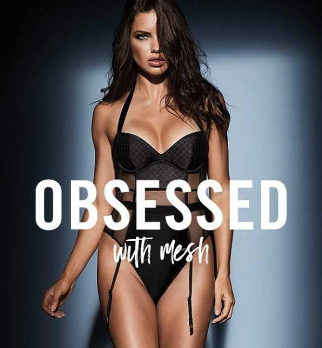 Adriana Lima in Victoria's Secret Obsessed 2017