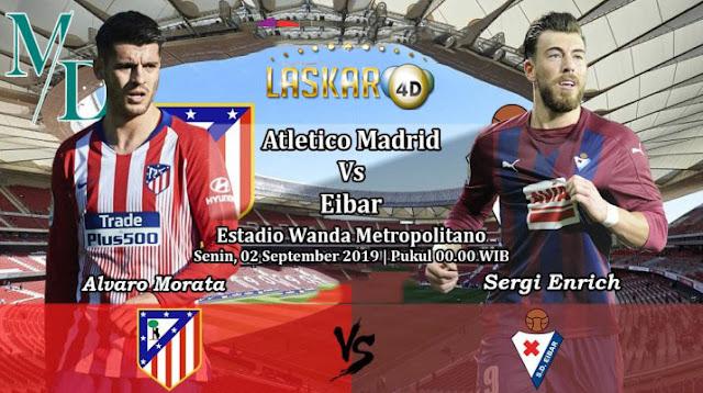 Prediksi Pertandingan Bola Atletico Madrid Vs Eibar