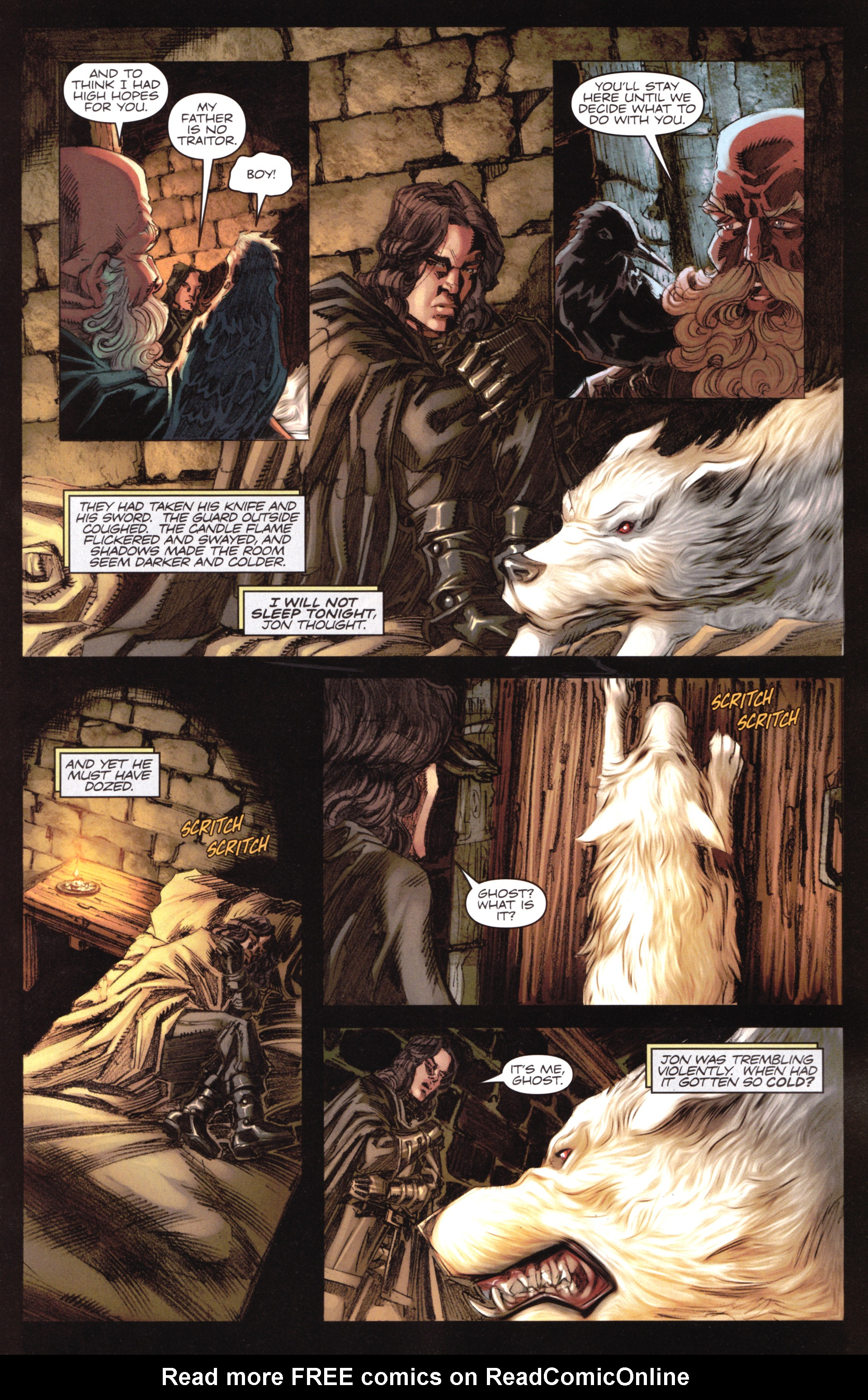 Read online A Game Of Thrones comic -  Issue #17 - 11