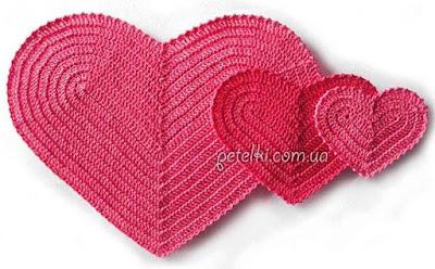 wzory serc szydelkowych