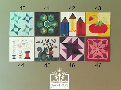 The Splendid Sampler Blocks 40-47