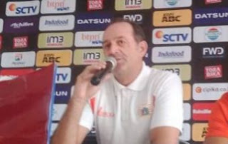 Pelatih Persija Paulo Camargo Mengundurkan Diri