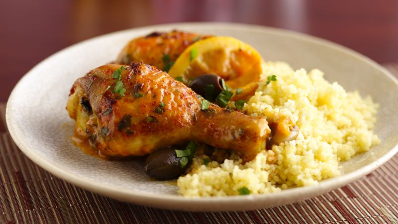 Moroccan Chicken with Olives Recipe - LEBANESE RECIPES