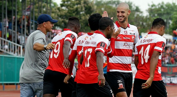 Liga 1 Indonesia, Madura United Targetkan Posisi Ketiga