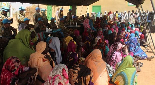 TNI Gelar Bakti Sosial Kesehatan Gratis di Sudan