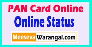 Steps Know Pan Card Status Online