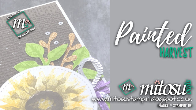 Stampin' Up! Painted Harvest Card Idea. Order cardmaking products from Mitosu Crafts UK online shop