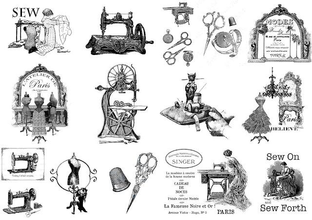 Moda Parisina Retro: Carteles o Etiquetas en Blanco y Negro para Imprimir Gratis.
