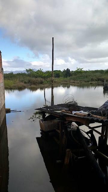 Maré alta em Cananéia vitima famílias dos bairros Carijó e Morro São João