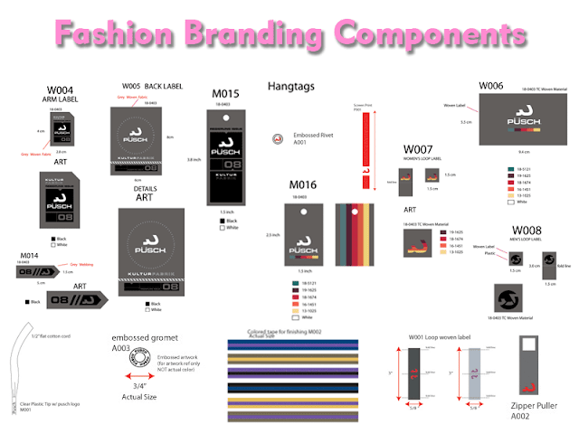 fashion branding tags labels and trims