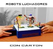 DIY- Como Hacer Robots de Boxeo - Ring de Robots