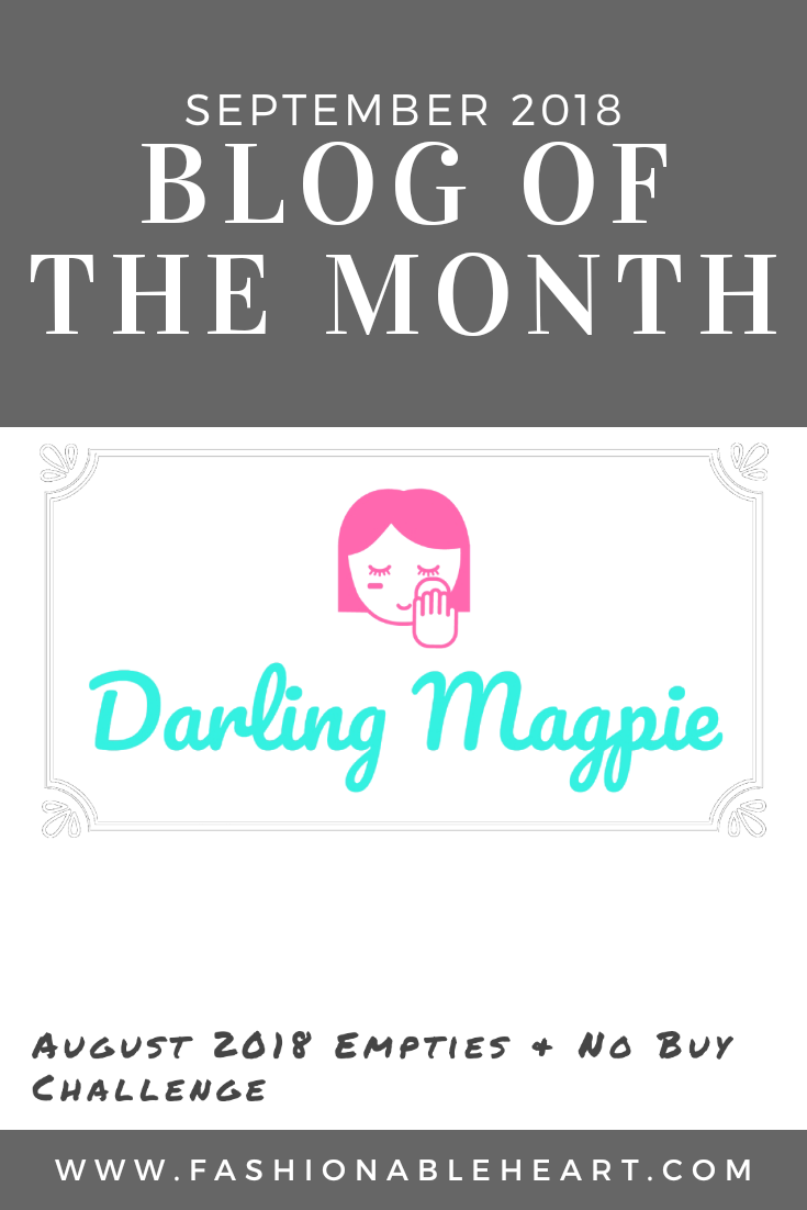 bblogger, bbloggers, bbloggerca, canadian beauty blogger, darling magpie, featured blog, featured blogger, blog of the month