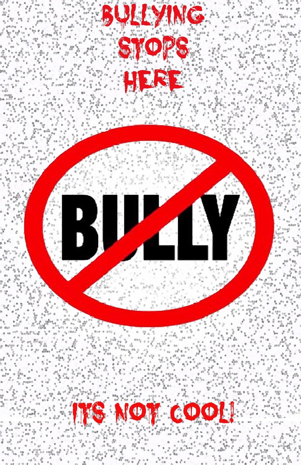 Ryan Blog: Anti-Bullying Posters