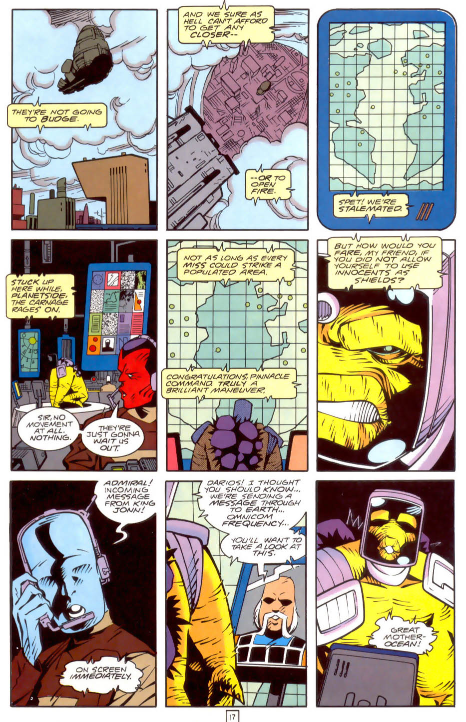 Legion of Super-Heroes (1989) 34 Page 17