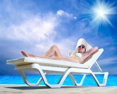 Tắm nắng là một cách tăng chiều cao tốt mà bạn không nên bỏ qua