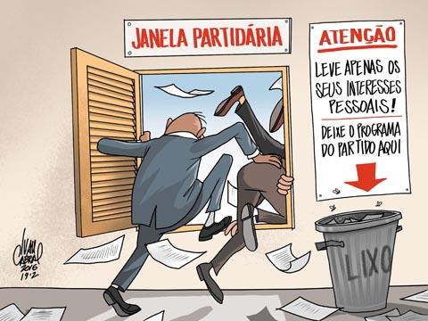 Resultado de imagem para Janela partidária