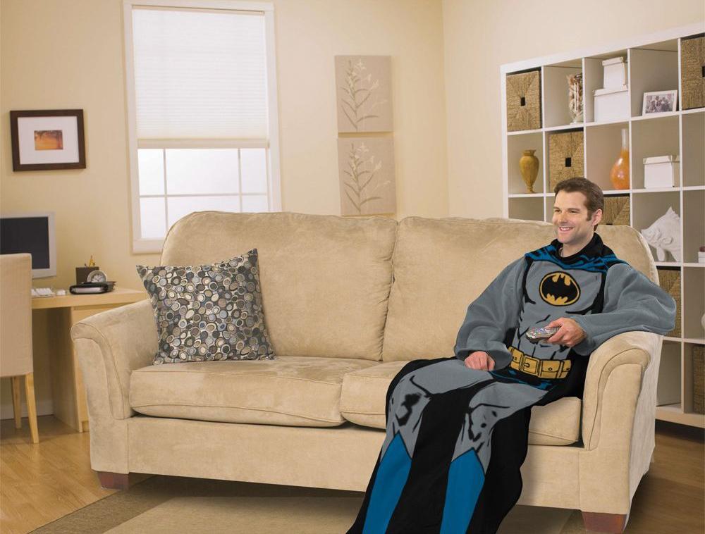 Niet alle superhelden hoeven 's nachts de deur uit