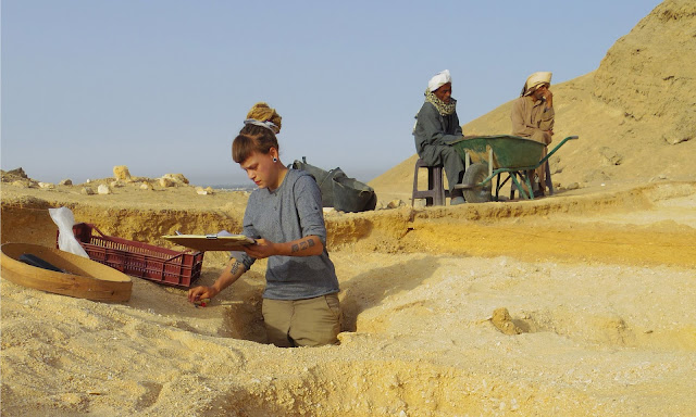 Was the ancient Egyptian city of Amarna built by child slaves?