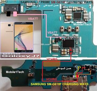 Solução Samsung G610f Galaxy J7 Prime Não Carrega   Samsung Galaxy J7 Prime Usb Charging Problem Solution Jumper Ways