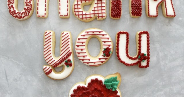 The Partiologist Thank You Cookies
