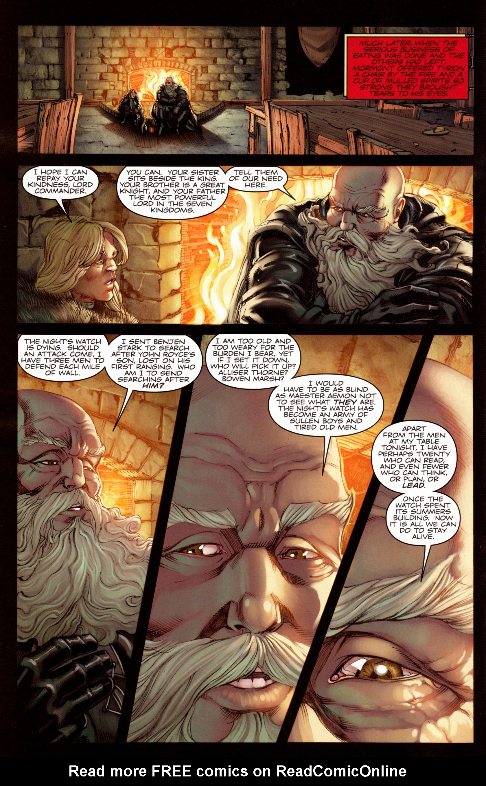 Read online A Game Of Thrones comic -  Issue #7 - 6