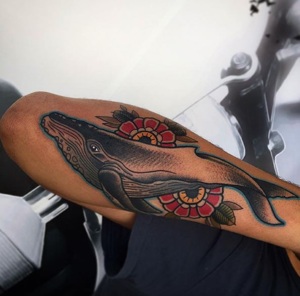 50+ Tribal Whale Tattoos Designs For Women (2019)