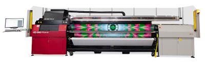 Agfa'nın yeni UV Baskı Makinesi Agfa Jeti Ceres R2R Led piyasada