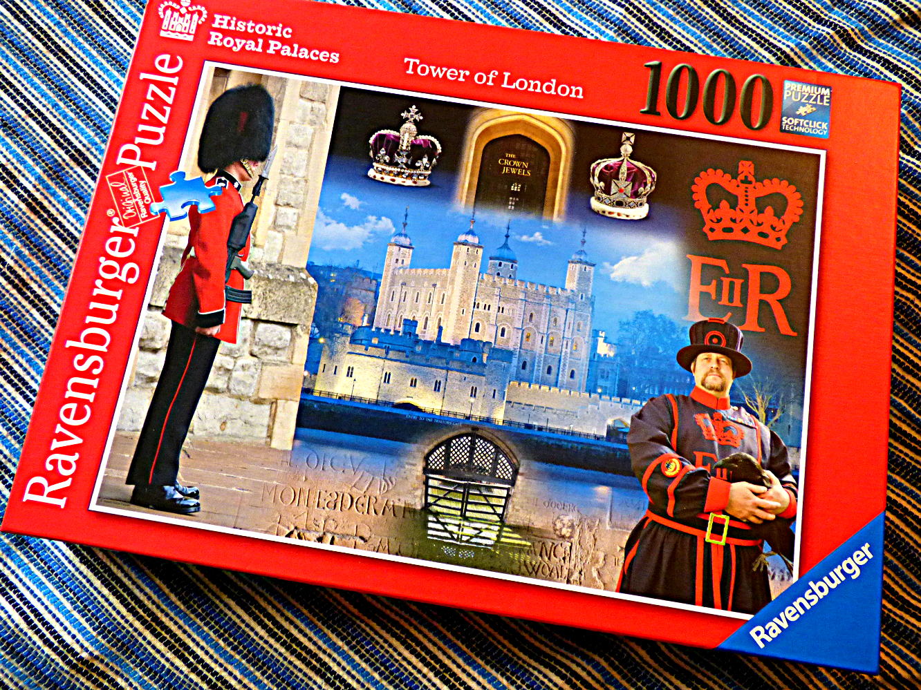 Chez Maximka: The Tower of London 1000 piece jigsaw puzzle from