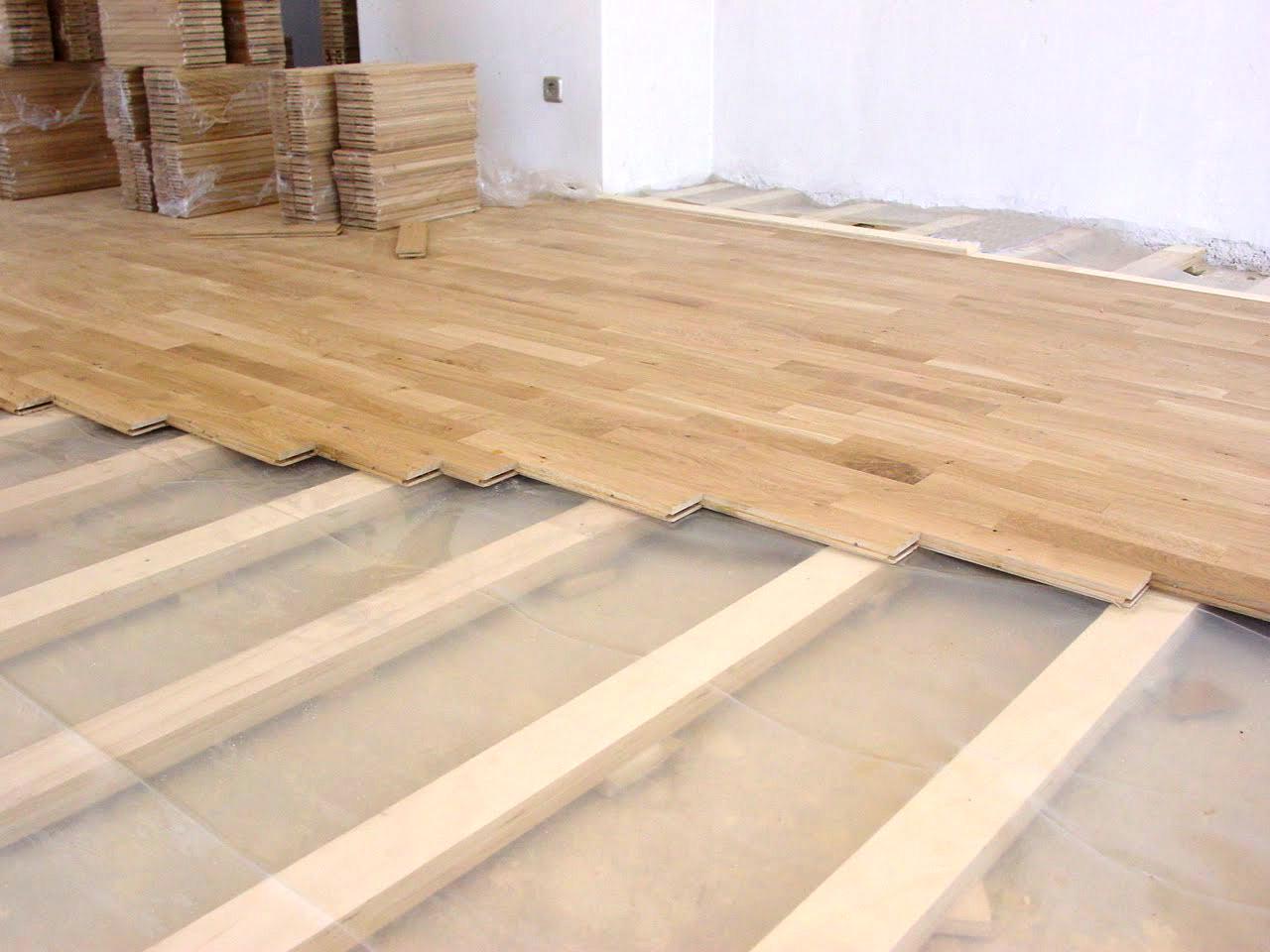 Dormitorio muebles modernos como colocar tarima de madera - Como colocar suelo ...