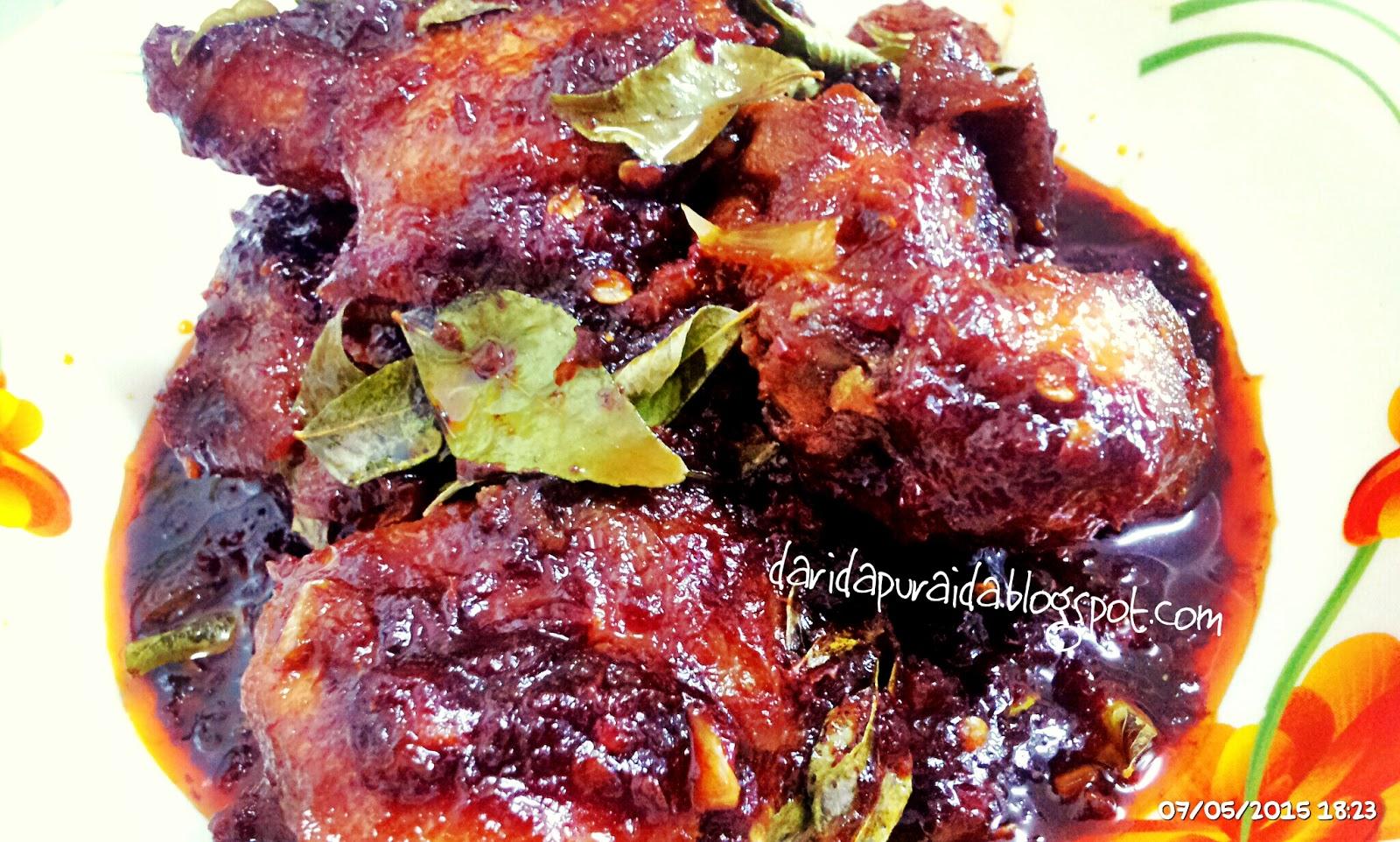 Ayam Masak Hitam Mamak