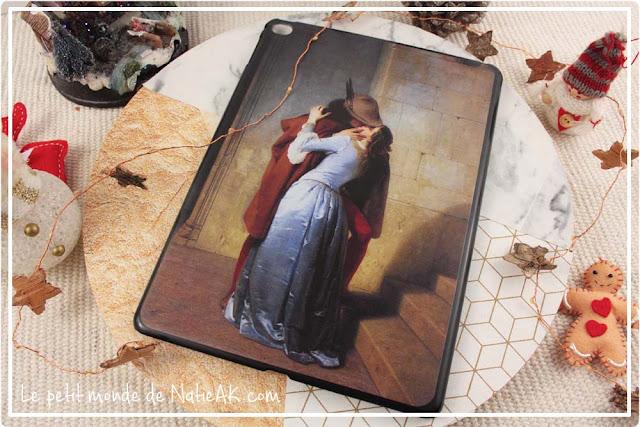 Le baiser de Francesco Hayez sur Coque tablette
