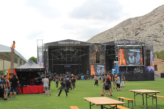 recinto Leyendas del Rock 2016