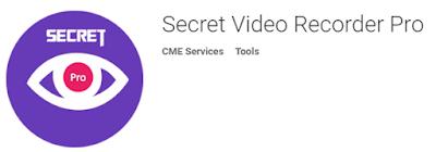 برنامج Secret Video Recorder لتصوير الفيديو بشكل متخفي