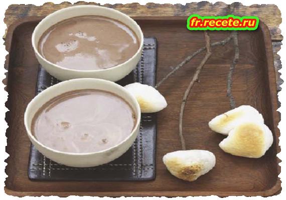 Chocolat chaud aux Chamallows