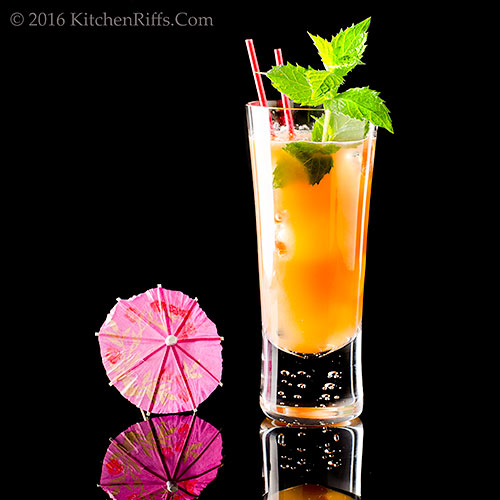 The Paradise Cooler Cocktail