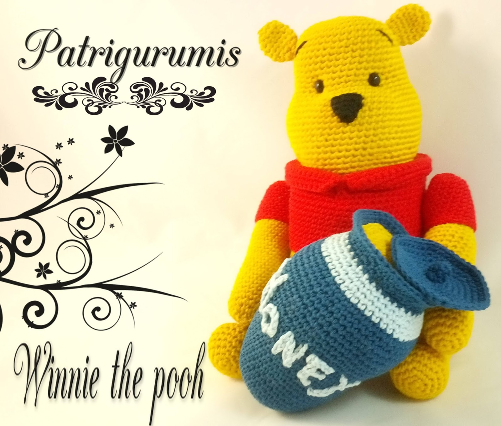 Crochet Winnie The Pooh Backpack Free Pattern [Video] - Crochet ... | 1360x1600