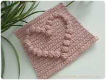 Granny with a Puff Stitch Heart