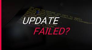 Cara mengatasi Android yang gagal melakukan Update Sistem