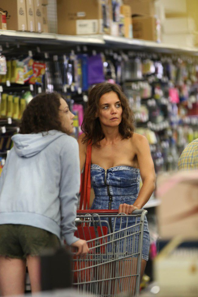 Photos: Katie Holmes indeed started the filming of her new movie