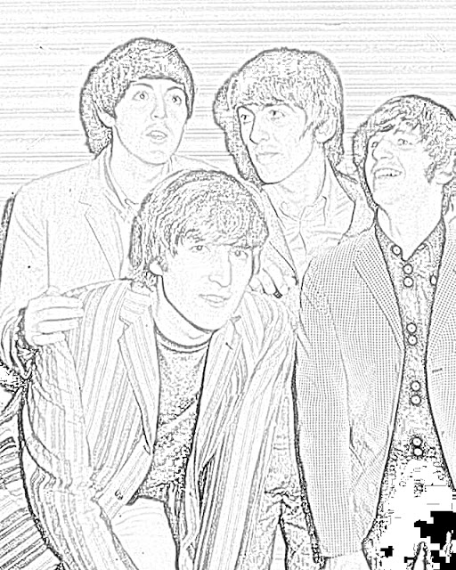 Beatles coloring pages coloring.filminspector.com