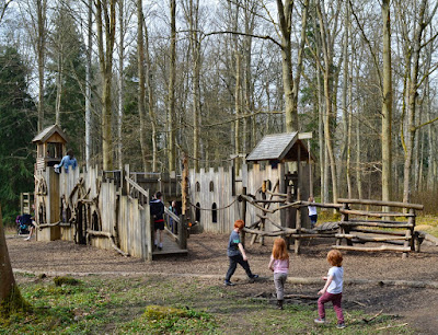Wallington hall play area