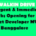 Immediate Job opening for .net developer 3-6 years of experience in bangalore