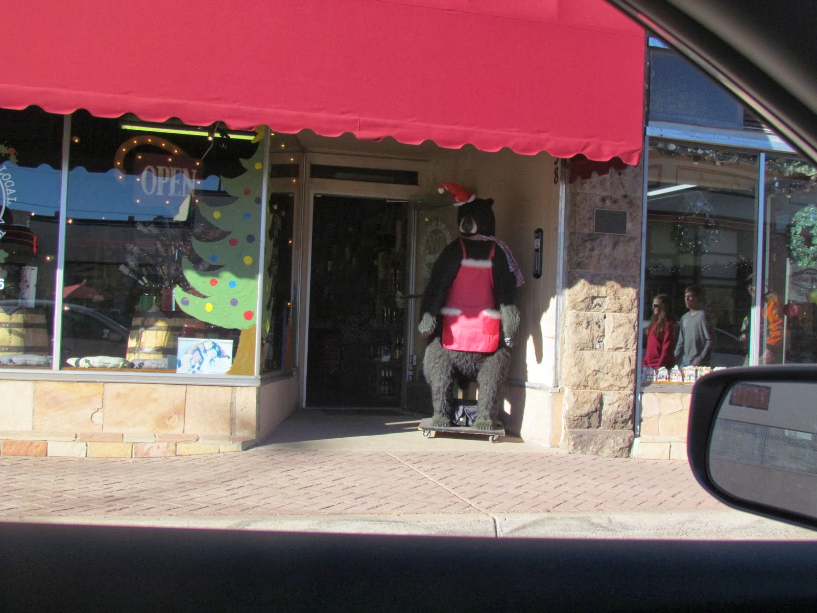 Fachada de loja em Williams/AZ