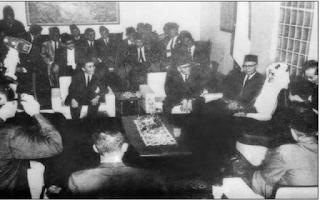 Video Raja Faisal Saat Kunjungan di Tahun 1970