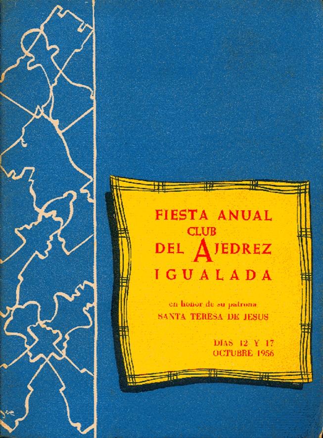 Opúsculo de la Fiesta Anual de 1956