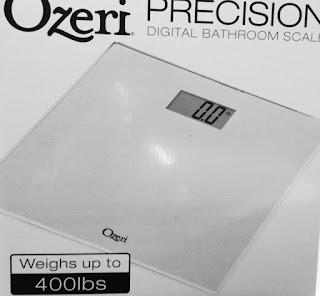 Ozeri Precision Digital Bathroom Scale
