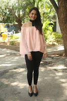 Rakul Preet Singh in lovely Pink Crop Top and Black Trousers at Jaya Janaki Nayaka success meet 063.JPG