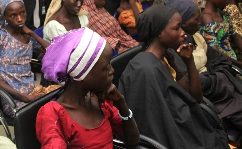 boko haram releases 82 chibok girls in exchange for terror suspects
