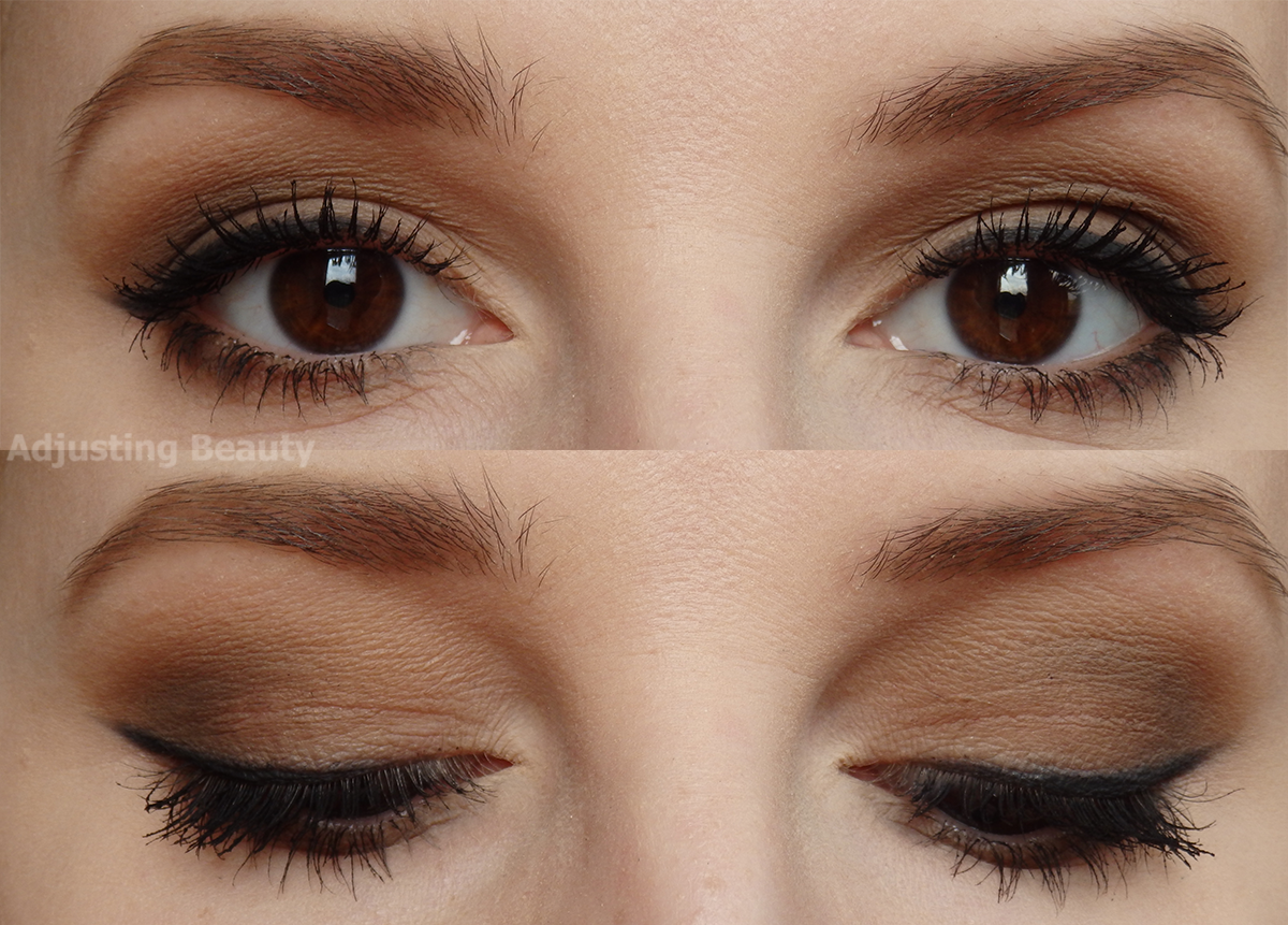 All Brown Matte Makeup