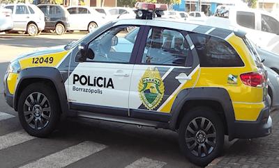 Borrazópolis:PM registra ocorrência de lesão corporal em Lanchonete